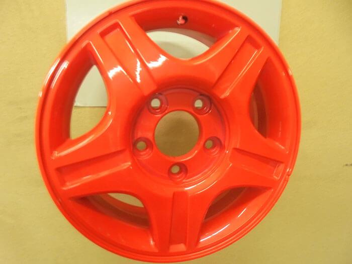 Покраска дисков люминесцент