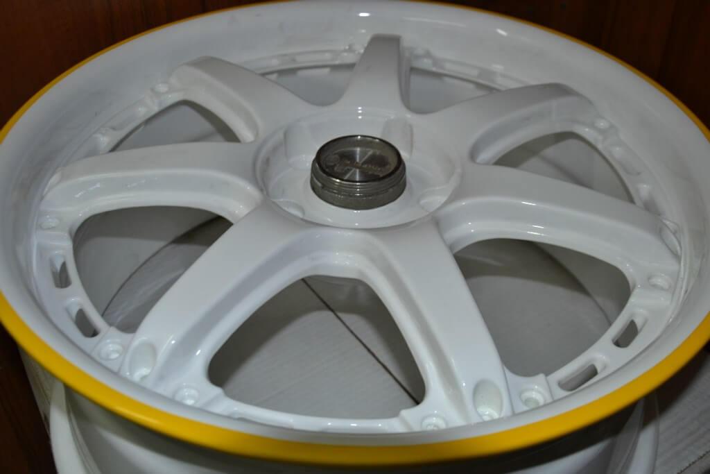 Порошковая покраска диска - пример 5