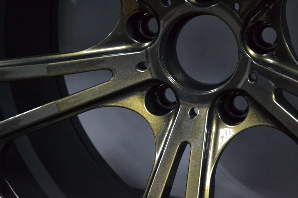Порошковая покраска диска - пример 9