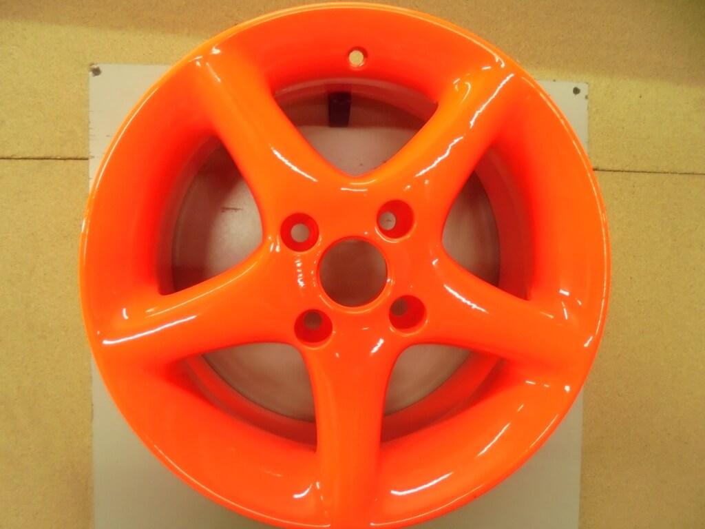 Порошковая покраска диска - пример 10